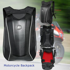 Motorcycle Backpack Carbon Fiber Motocross Riding Racing Storage Bag W/ Cover US