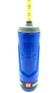 Under Armour Sideline 32 Ounce Squeezable Bottle Blue New
