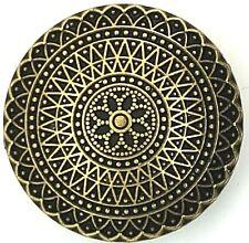 5 KNÖPFE gold golden aus Metall Knopf 20 23 25 mm   Öse  Jacke  Mäntel Trachten
