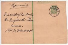 Russie: old Wrapper; Saint-Pétersbourg [?] à Berlin, 20 mai 1918 [?]