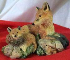 A Warm Embrace Nature's Beautiful Bonds Richard Roberts Fox and cub Hamilton
