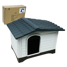 """Indoor Outdoor Dog House Small to Medium Pet All Weather Puppy Shelter 32"""""""