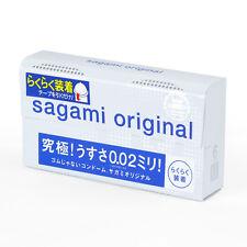 Japan Sagami 002 Quick Thin 0.02 ultra thin condom 6pcs