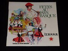 45 RPM EP - Fiestas a Países Vasco