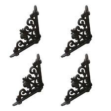 Lot4 Antique Style Cast Iron Brackets Garden Braces Rustic Shelf Bracket Cj003