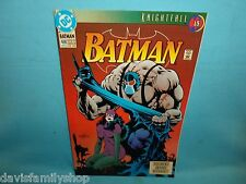 Batman #498 Original 1st Series DC Comic Comics Fine Condition