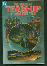 """DC Comics """"THE GREATEST TEAM-UP STORIES EVER TOLD"""" Unread HC 1st Print 1989 GN1"""
