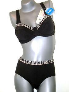 AE Triumph Bikini Set  -  40 C  - Twilight Waterfall TW NEU schwarz