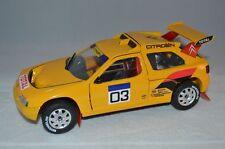 Solido 8503 Citroen ZX Ralley Raid 1;18 yellow mint limited edition no: 9160