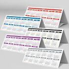 2 Year LAMINATED Desktop Calendar Planner StandUp Tent Card?Long Range 2019-2020
