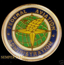 US FEDERAL AVIATION ADMINISTRATION FAA HAT PIN AIRPORT TIE TAC PILOT WING WOW