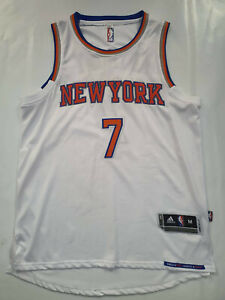 Carmelo Anthony New York Knicks home white jersey M L