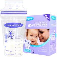 Lansinoh Muttermilchbeutel (50 Stück Großpack) Muttermilch-Behälter Aufbewahrung