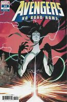 Avengers Comic 10 No Road Home Variant First Print 2019 Al Ewing Sean Izaakse .