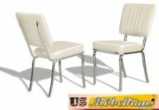 Chaises blancs pour la maison salle à manger