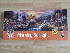 """Master pieces 500pc """"Morning Sunlight"""" 3 feet long Jigsaw Puzzle."""