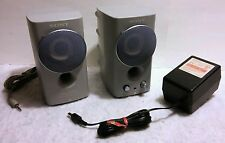 RARE - SONY Satellite Computer Active Speakers SRS-Z050V - PERFECT CONDITION