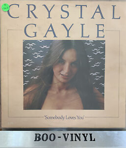 Crystal Gayle 4 x Vinyl Job Lot ~Lp Records All In Vg+ Or Better See Pics