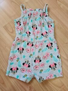Disney Minnie Mouse Playsuit Romper 9-12 Months * Worn Once