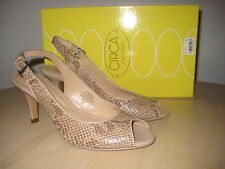 Circa Joan & David New Womens Zelenia Open Toe Slingback Heels 6 M Shoes