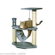 Kratzbaum Cats Empire Kairo grau mit Hängematte, Spielturm, Ball // Katze 33351