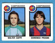 CALCIATORI PANINI 1982-83 Figurina-Sticker n.394 - CIAPPI#PROGNA -CAMPOBASSO-New