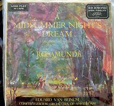 Mendelssohn/Schubert/Van Beinum  Incidental Music  Richmond