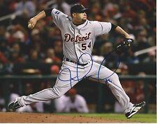 **GFA Detroit Tigers *JOEL ZUMAYA* Signed 8x10 Photo AD2 COA**