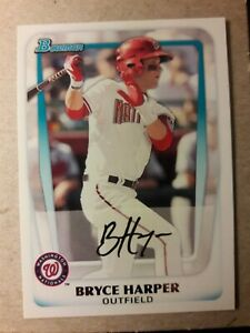 Topps 2019 Series 1 Iconic Card Reprint Bryce Harper