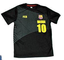 NEW FC BARCELONA MESSI Kids Youth T-Shirt Size Large #10