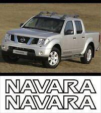 Nissan Navara calcomanías de lado/Pegatinas/gráficos x2