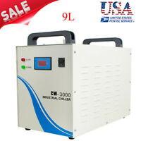 Industrial Water Chiller Machine 9L CW-3000 60Hz for CNC/Laser Engraving Machine