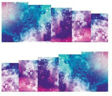 Nail Art Decals Transfers Stickers Galaxy (A-178)