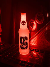 NCAA Stanford Cardinal Football 12oz Beer Bottle Light LED March Madness