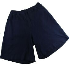 Structure Shorts Mens Size Large Blue Waffle Knit Elastic Waist Pull On Cotton