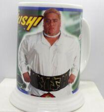 WWF Rikishi Danbury Mint Collector Mug Stein New 2001 NWB Rare WWE