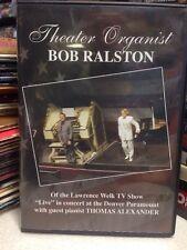 Theater Organist Bob Ralston w/ guest pianist Thomas Alexander live concert Dvd