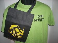 ONE FOR THE MONEY PRIZE PACK T SHIRT,SMALL TOTE,PAPERBACK AND BOOKMARK