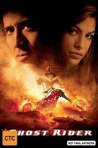 Ghost Rider DVD SUPERNATURAL ACTION - Region 4