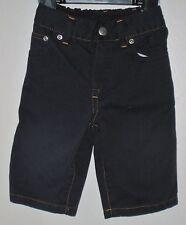 babyGAP Size 3-6 Months Boys Black Front Zipper Jeans