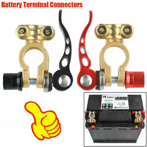 2PCS Car Battery Terminal Connector Clamp Quick Release Adjust Disconnect Tools