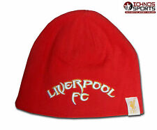 Liverpool FC Kop Warrior adult size red beanie hat soccer football 2164158695f