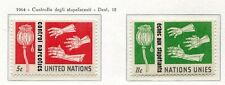 19058) UNITED NATIONS (New York) 1964 MNH** Drugs control