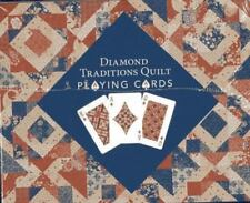 Diamond Traditions Quilt Playing Cards Display :  Carton with 12 decks