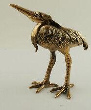 Solid Bronze Herron Miniature by Sergey Olifirenko