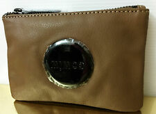 Mimco SMALL MIM Pouch Clutch Wallet Black Matt Brand New with tags Donkey