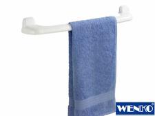 Porta Asciugamani da Parete in Plastica Robusta 60cm Bianco Wenko _ bagno