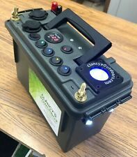Clancy's PowerBox 12 Volt Power Supply w/ Pos/ Neg Terminal Posts & Ice Glow Cup