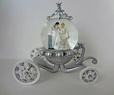 Disney Snow Globe  Cinderella Wedding Coach
