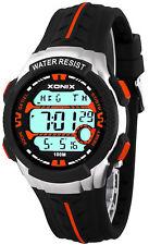 Unisex Xonix Wrist-watch 8x Alarm World Time Chrono Water Resistant 100m H93jm85h/3